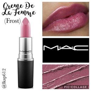 MAC Frost Lipstick- Creme De La Femme